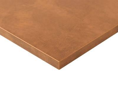 Плита МДФ LUXE 1220*18*2750 мм, глянец красная медь куско (Cuzco Copper) Изображение