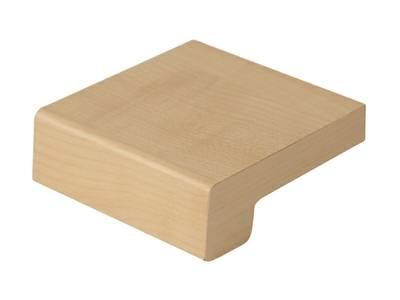 Подоконник деревянный Werzalit Exclusiv (600 мм, 2 капиноса, клён) Изображение