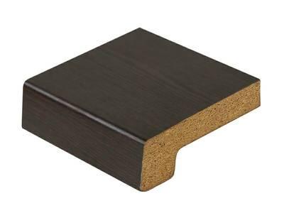 Подоконник деревянный Werzalit Exclusiv (600 мм, 2 капиноса, венге) Изображение 2
