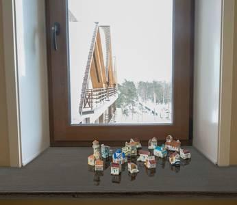 Подоконник пластиковый Moeller 800мм, венге глянцевый Изображение 3