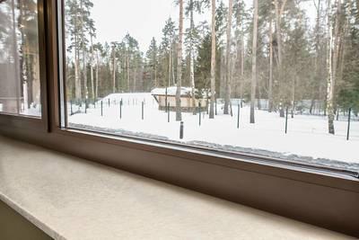 Подоконник пластиковый Moeller 400мм, крем-брюле глянцевый Изображение 3