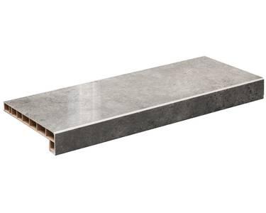 Подоконник пластиковый Moeller LD 40 /450/ серый топаз глянец /6,0м/ Изображение