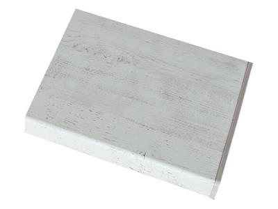 Подоконник пластиковый Moeller 350мм, белый ручей матовый Изображение 2