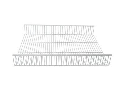 Полка-корзина FIRMAX 410-550мм, Н=80мм, белый Изображение 5