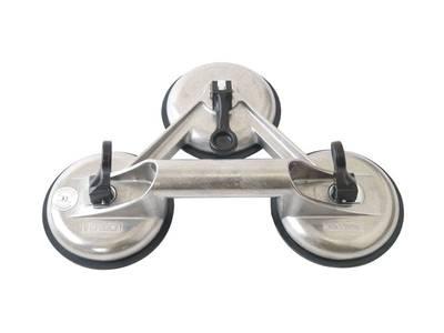 Присоска вакуумная для стекла Bohle Veribor (D=120 мм, 100 кг, тройная) [ВО 603.0] Изображение 4