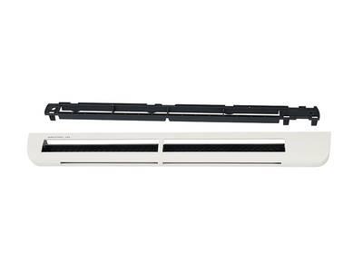 Приточное устройство EMM2, гигрорегулируемый расход воздуха 5-35 м3/ч,  для оконных конструкций, переключатель режимов работы, белый Изображение