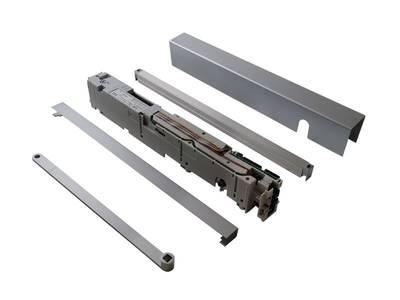 Привод PORTEO 230 В (привод + скользящий канал + крышка), серебро, 60010001 Изображение