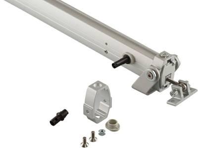 [ПОД ЗАКАЗ] Реечный электропривод пассивный Giesse LC DUO/TRY 75 (серебро) Изображение