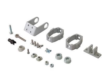 [ПОД ЗАКАЗ] Реечный электропривод пассивный Giesse LC DUO/TRY 75 (серебро) Изображение 2