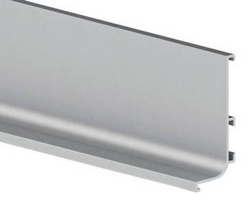 Профиль GOLA FIRMAX L-образный для нижних баз L=4200mm, алюминий Изображение