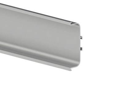 Профиль GOLA FIRMAX П-образный для нижних баз L=4200mm, алюминий Изображение