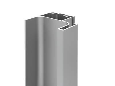 Профиль GOLA FIRMAX вертикальный боковой L=3000mm, алюминий серебро Изображение