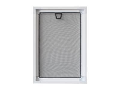 Профиль внутренний для москитной сетки (27x10 мм, L=5.8 м, белый) Изображение 4