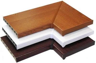 Профиль декоративный на подоконник Moeller (90/135°, венге) Изображение 3