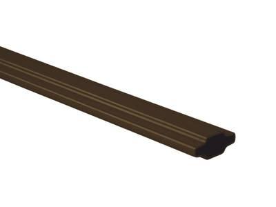 Профиль декоративный Isabel 25X8, коричневый Изображение
