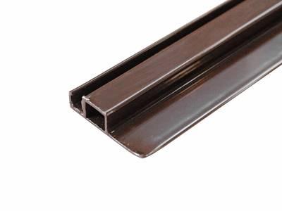 Профиль с четвертью для москитной сетки (30x8 мм, L=5.8 м, коричневый) Изображение