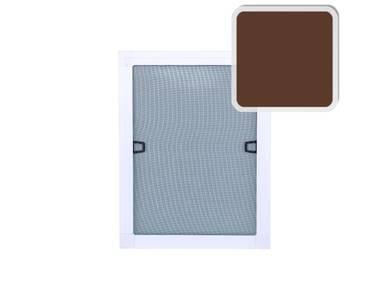 Профиль с четвертью для москитной сетки (30x8 мм, L=5.8 м, коричневый) Изображение 2