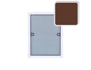 Профиль с четвертью для москитной сетки (30x8 мм, L=5.8 м, коричневый) Изображение 3