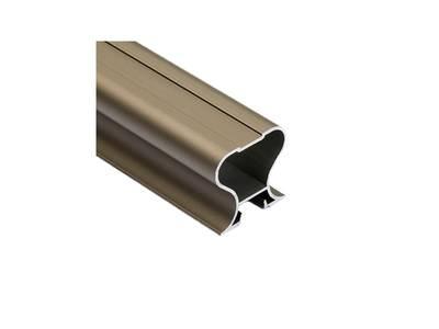 FIRMAX Профиль-ручка симметричная, алюминий, шампань, 5400 мм Изображение