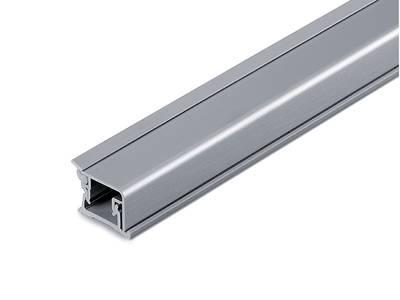 Пристеночный бортик прямоугольный SCILM (15х20 мм, L=3900 мм, алюминий) Изображение