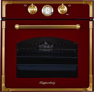 Электрический духовой шкаф Kuppersberg RC 699 BOR Bronze, бордовый Изображение