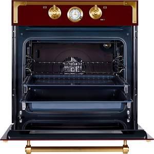 Электрический духовой шкаф Kuppersberg RC 699 BOR Bronze, бордовый Изображение 2