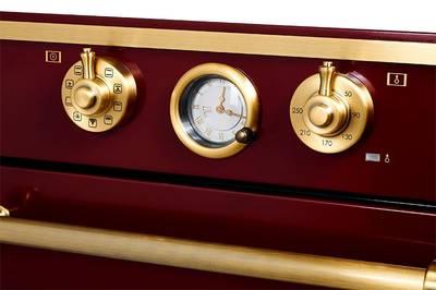 Электрический духовой шкаф Kuppersberg RC 699 BOR Bronze, бордовый Изображение 4