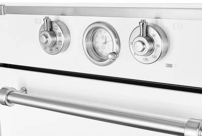 Электрический духовой шкаф Kuppersberg RC 699 W Silver, белый Изображение 3