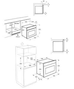 RMW 969 ANX Встраиваемая микроволновая печь, цвет: антрацит/ручка дверцы и переключатели цвета нерж. Изображение 2