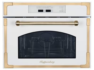 RMW 969 C Встраиваемая микроволновая печь, цвет: бежевый/ручка дверцы и рамки цвета бронзы Изображение