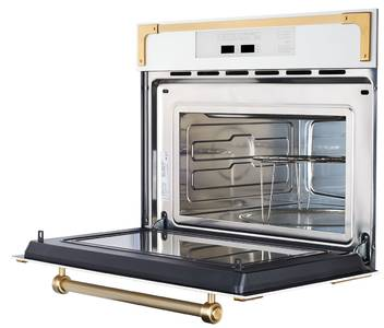 RMW 969 C Встраиваемая микроволновая печь, цвет: бежевый/ручка дверцы и рамки цвета бронзы Изображение 2