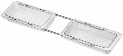 Поддон бельевой для выдвижной рамки Vibo (100x440-520x40 мм) [AVP10T] Изображение