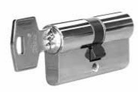 [ПОД ЗАКАЗ] Личинка замка двери Roto 35/65 (никелированный) Изображение