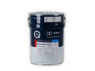 Краска для дерева ZOBEL Deco-tec 5450, белая, 20л Изображение
