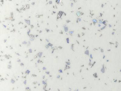 Кухонная столешница ALPHALUX, морозная искра, матовая, R6, влагостойкий, 1200*39*1500 мм Изображение