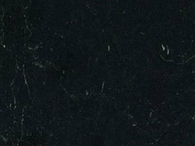Кухонная столешница ALPHALUX, мрамор черный, глянец, R6, влагостойкая, 1200*39*1500 мм Изображение
