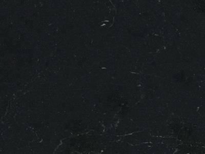 Бортик пристеночный треугольный ALPHALUX, 30*25 мм, L=4.1м, мрамор черный глянец, алюминий Изображение