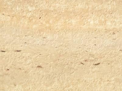 Пристеночный бортик овальный, Травертин римский природный камень, 34*29 мм, L=4.2м Изображение