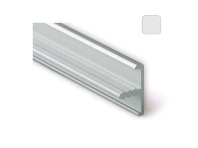 Профиль 20/4 серебро, 5800 мм окантовочный Изображение