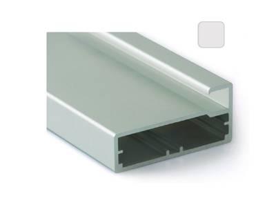Профиль 45/9 серебро, 5800 мм для рамочных фасадов Изображение