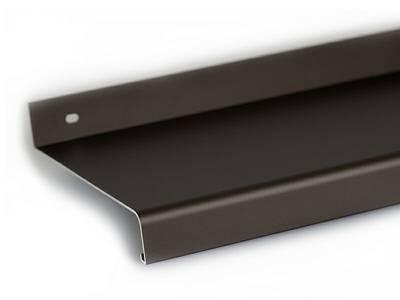 Отлив оконный Gutmann 70мм темная бронза, 6м Изображение