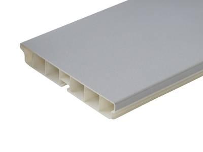 Радиусный элемент универсальный пластик Алюминий гладкий  H=100мм FIRMAX Изображение
