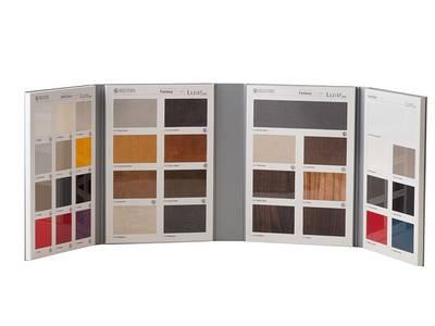 Рекламная папка с образцами МДФ плит Luxe by Alvic (34 образца) Изображение 2