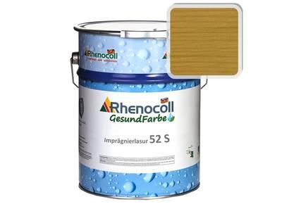 Лак фасадный Rhenocoll Impragnierlasur 52S c защитой от синевы, дуб, шелковисто-глянцевый 1л Изображение