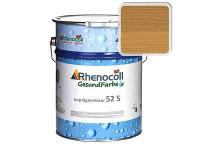 Лак фасадный Rhenocoll Impragnierlasur 52S c защитой от синевы, клён, шелковисто-глянцевый 1л Изображение