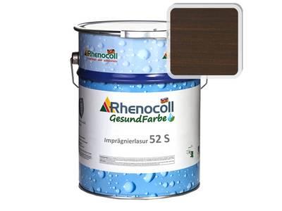 Лак фасадный Rhenocoll Impragnierlasur 52S c защитой от синевы, палисандр, шелковисто-глянцевый 1л Изображение