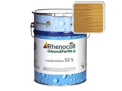 Лак фасадный Rhenocoll Impragnierlasur 52S c защитой от синевы, сосна, шелковисто-глянцевый 1л Изображение