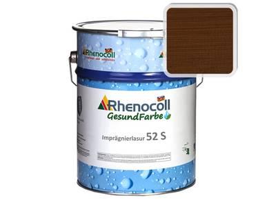 Лак фасадный Rhenocoll Impragnierlasur 52S c защитой от синевы, тик, шелковисто-глянцевый 1л Изображение