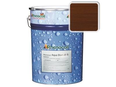 Лак фасадный Rhenocoll Aqua Start 20S орех, шелковисто-матовый 1л Изображение