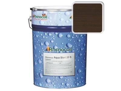 Лак фасадный Rhenocoll Aqua Start 20S палисандр, шелковисто-матовый 1л Изображение